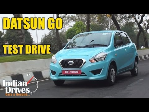 Datsun Go Test Drive | Video Review