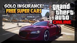 GTA 5 Glitches Solo Insurance Glitch How To Get Free