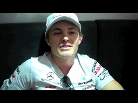 Nico Rosberg: Videoblog for his fans after European GP 2011 Valencia