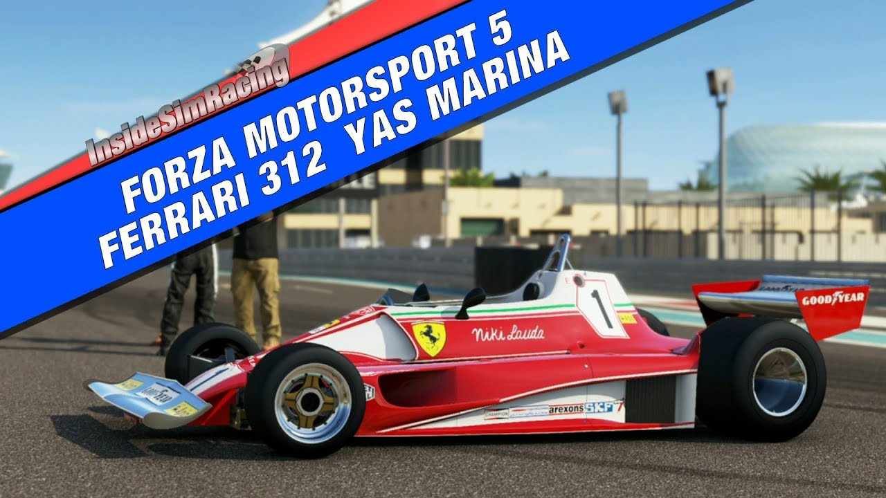 forza 5 ferrari 312 yas marina thrustmaster tx wheel youtube. Black Bedroom Furniture Sets. Home Design Ideas