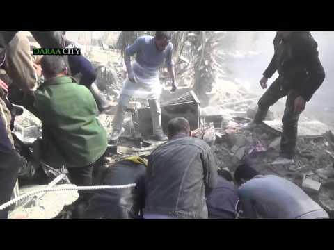 18+Syria   Syrian army Bombing a Saudi Salafascist commando post Feb  2014