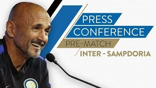 INTER vs SAMPDORIA | Luciano Spalletti Pre-Match Press Conference LIVE  🎙⚫🔵??