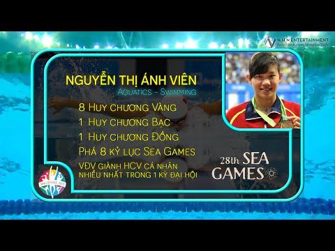 Nguyễn Thị Ánh Viên - Khoảnh khắc Sea Games 28 [ ft Bích Phương - Mình Yêu Nhau Đi ]