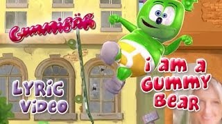 The Gummy Bear Song With Lyrics Gummibär The Gummy Bear