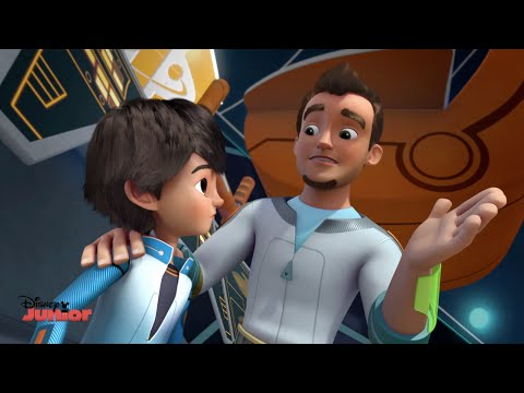 Miles From Tomorrow - Cute Leo Moment - Official Disney Junior UK HD