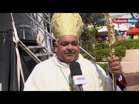 Missa Campal e procissão encerram a Festa de Sant'Ana 2019 em Caetité