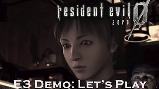 Resident Evil 0 / biohazard 0 HD REMASTER - E3 Demo