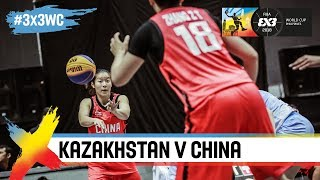 Кубок Мира по баскетболу 3х3 среди женских команд 2018 - Групповой этап: Казахстан - Китай