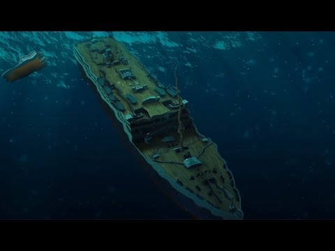 Titanic: 3D animated reconstruction of how Titanic sank