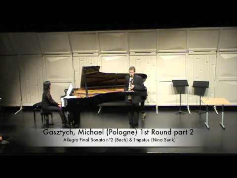Gasztych, Michael (Pologne) 1st Round part 2