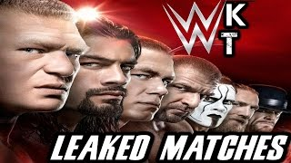 Possible WrestleMania 31 Main Event Matches LEAKED! | FULL BACKSTAGE DETAILS