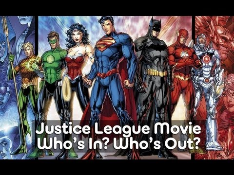 AMC Movie Talk - Justice League Line Up, Superman Character Gender Change, X-Men Drops One