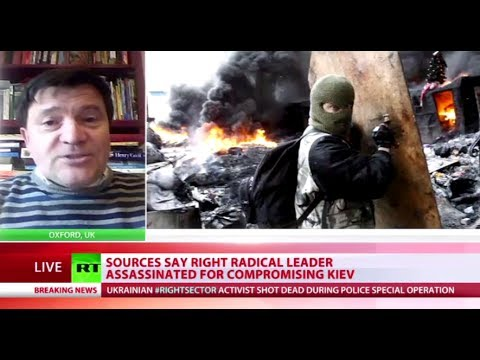 'Kiev leaders took power with Right Sector's help, but now afraid of them'