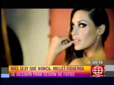 Milett Figuero habló de su destape en la revista Cosas Hombre