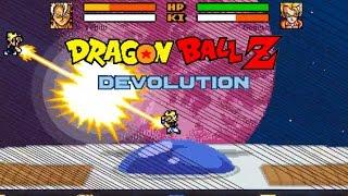 Dragon Ball Z Devolution: Farmer Vs Mr. Satan, Vegito Vs