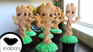 How to Make Groot Cupcakes | Become a Baking Rockstar