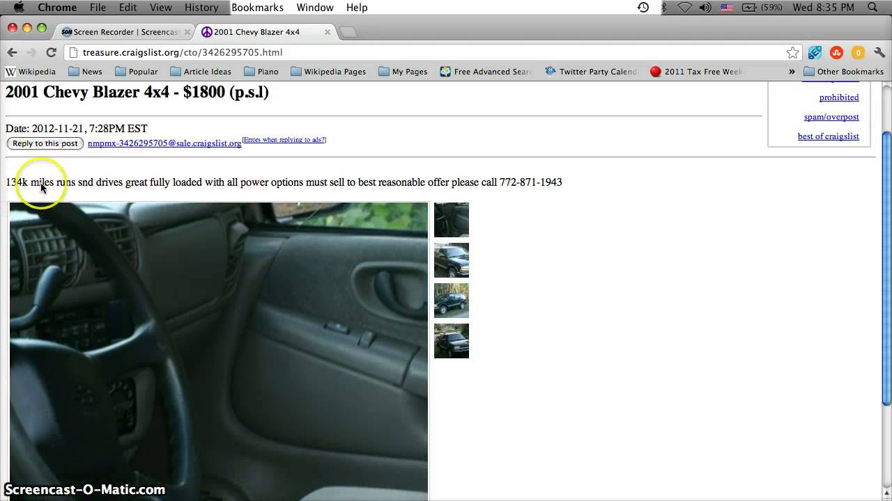 Craigslist Port St Lucie Used Cars and Trucks - By Owner ...