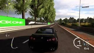 Forza 5 GTR Launch Control Tune And 284MPH