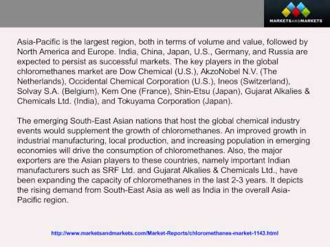 ? Chloromethanes Market worth $1,819 Million by 2018 - YouTube