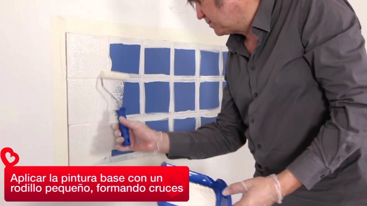 Pintar azulejos youtube - Como pintar azulejos ...