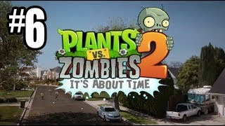 Plants vs. Zombies 2 Gameplay Walkthrough - Part 6 - Ancient Egypt Day 11, Temple!! (Gameplay HD)