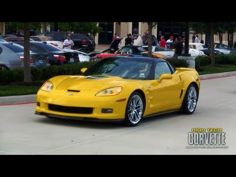 ZR1, Z06 Carbon and Callaway @ Coffee & Cars