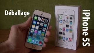 Déballage IPhone 5S GOLD Et Premier Démarrage Apple