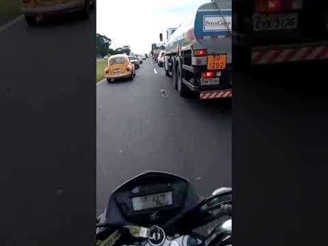 Vídeo Vídeo: WL tem trânsito praticamente parado no sentido capital para o interior