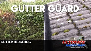 Gutter Hedgehog installation