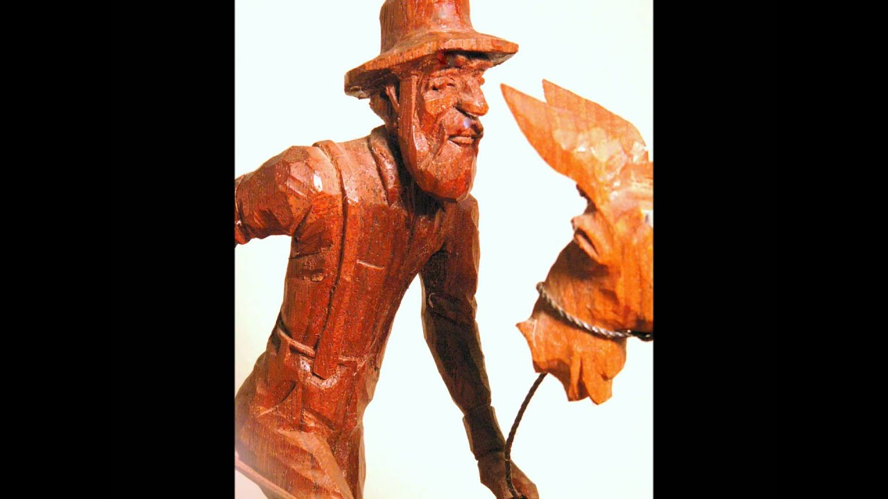 Tom wolfe wood carving youtube