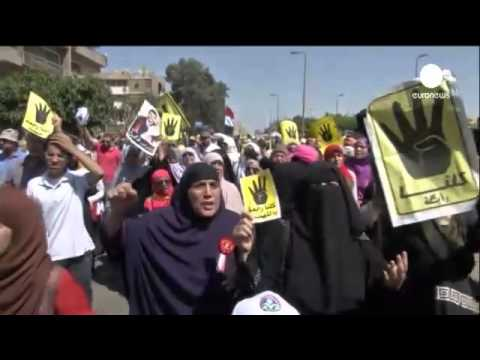 The Guardian   Muslim Brotherhood protests in Egypt ahead of Monday's trial of deposed