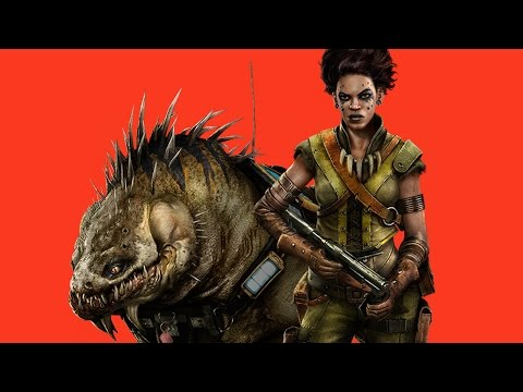 Evolve: Maggie The Hunter Vs. The Monster on The New Map