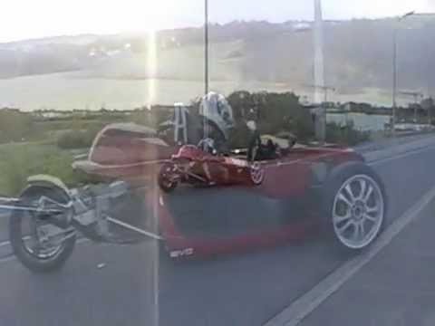 reverse trike evo first test drive..wmv