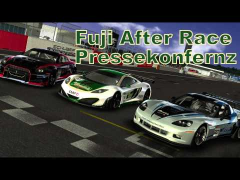 SRD DGTM 2014 #003 // Lauf 1 - Fuji // After Race Pressekonferenz [Full HD] [Deutsch]