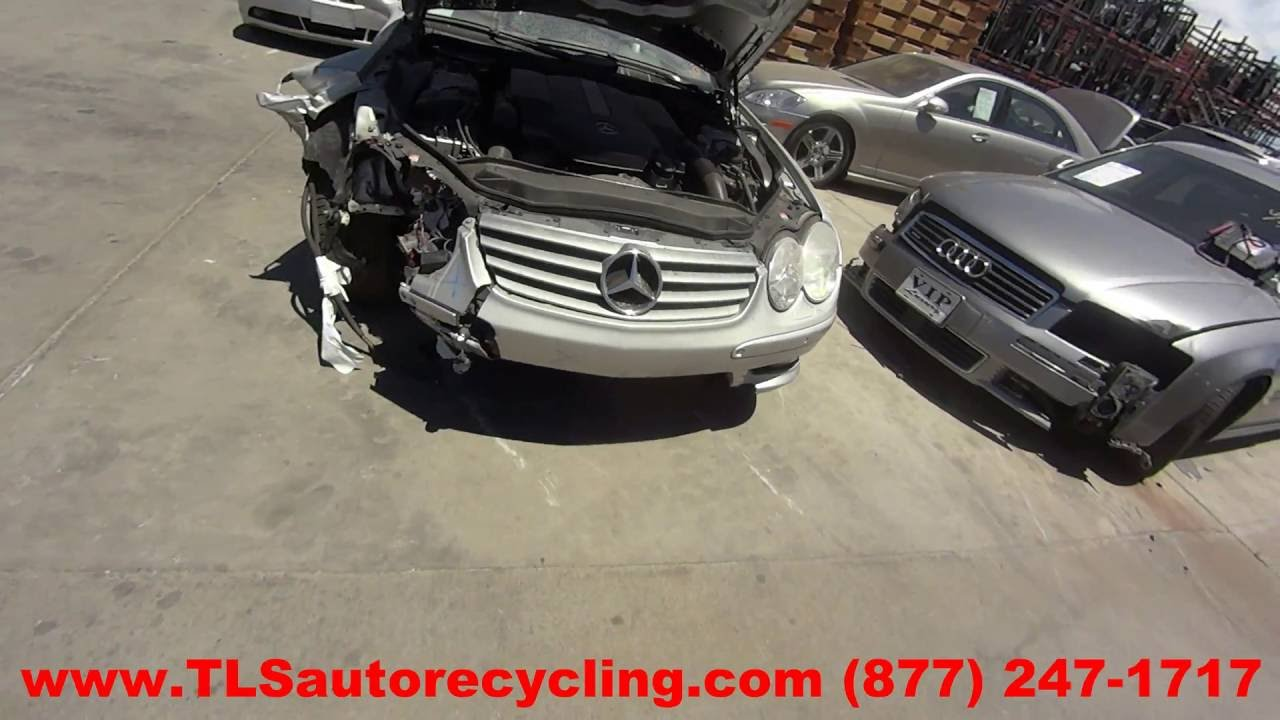 Parting Out 2003 Mercedes Sl500 Stock 6178bl Tls Auto Recycling Trunk Wire Wiring Harness R230 Sl55 03 2004 04