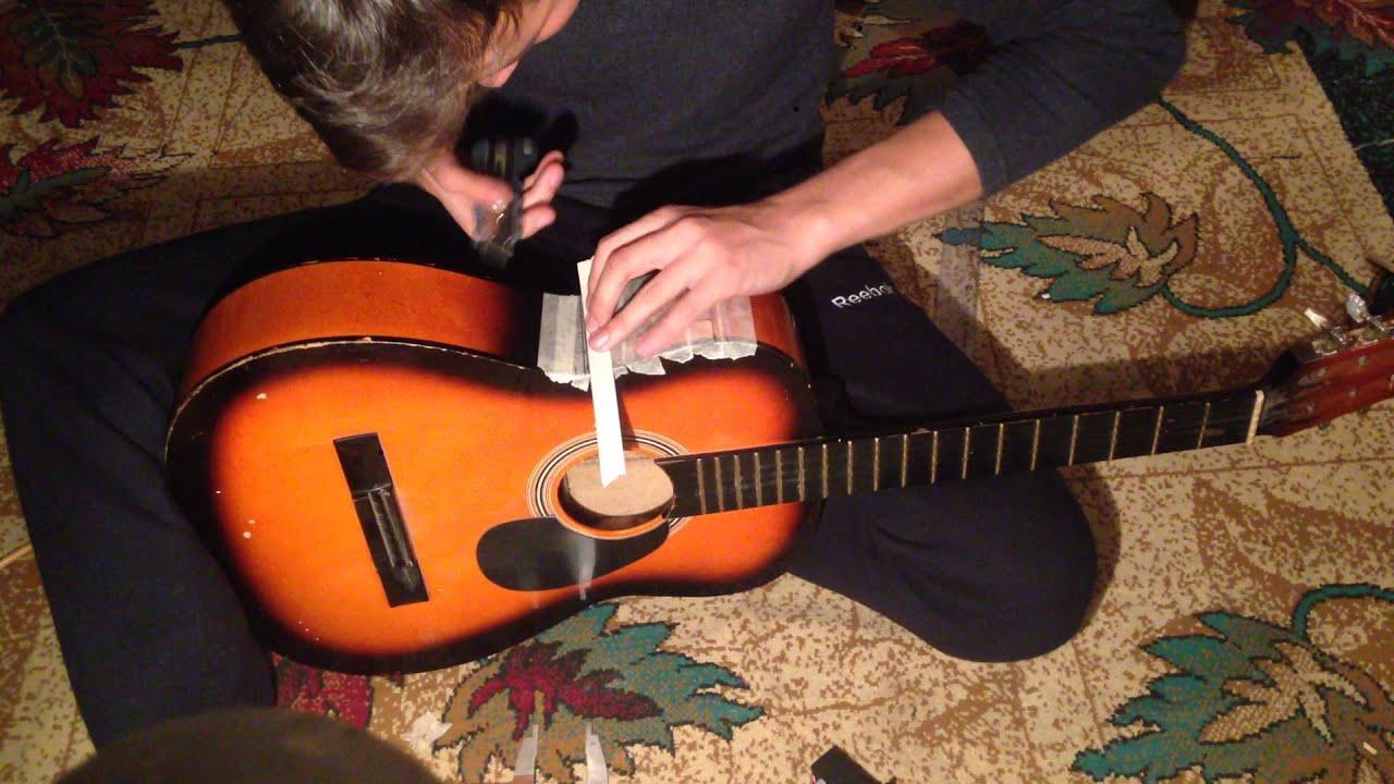 Звукосниматель для классической гитары своими руками