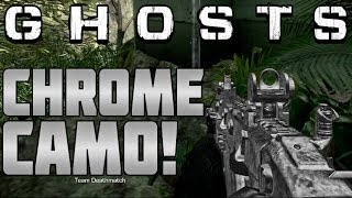 "CoD Ghosts How To Get ""CHROME CAMO"" In Call Of Duty"