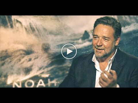 NOAH Interview; FEAT: Darren Aronofsky & Russell Crowe