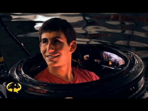 Kid Builds Real Submarine |