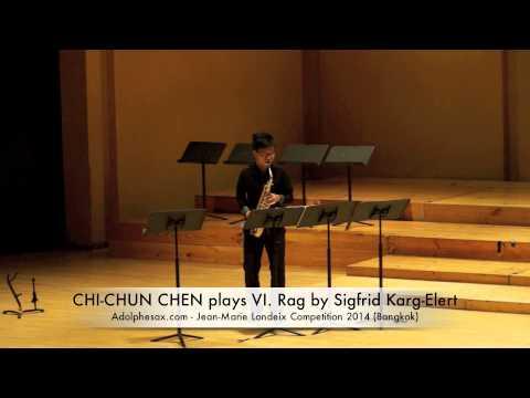 CHI CHUN CHEN plays VI Rag by Sigfrid Karg Elert