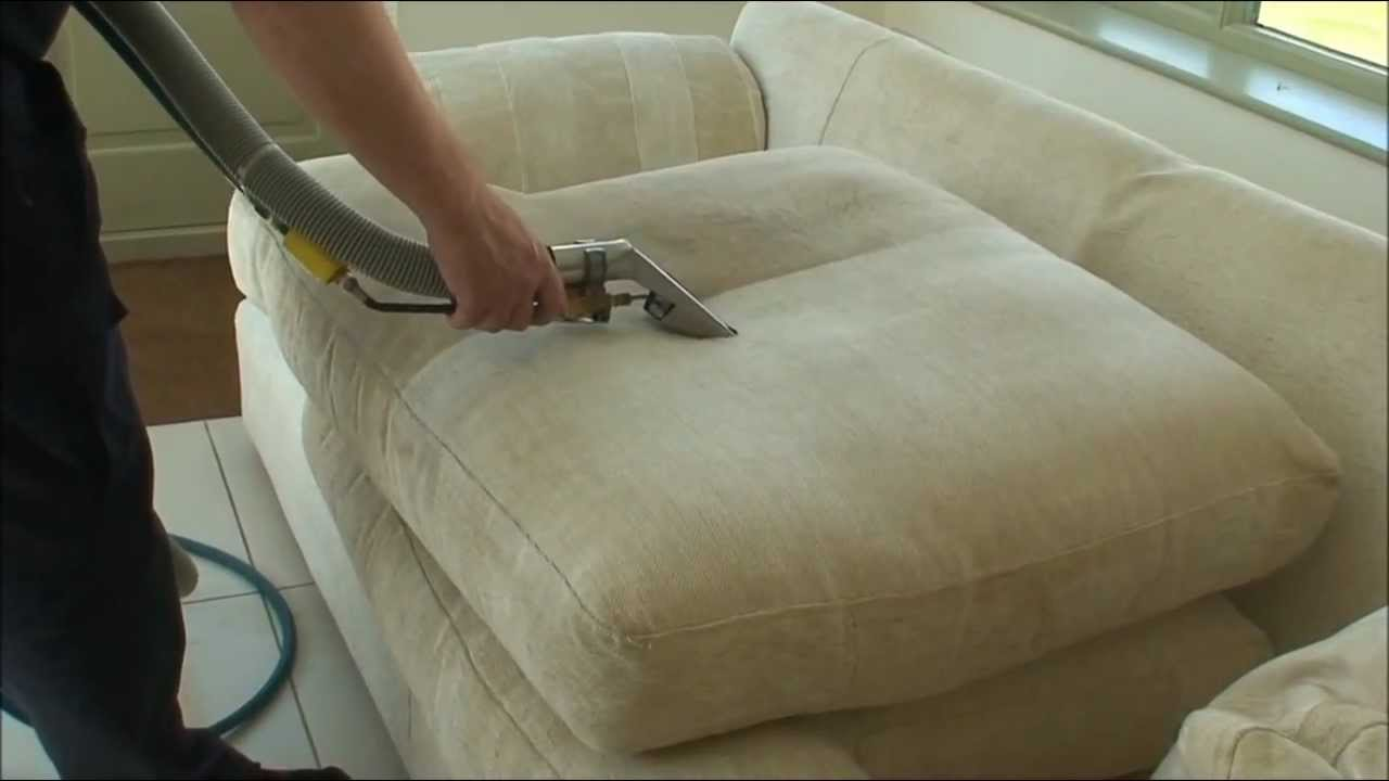 sofa cleaning using steam youtube. Black Bedroom Furniture Sets. Home Design Ideas