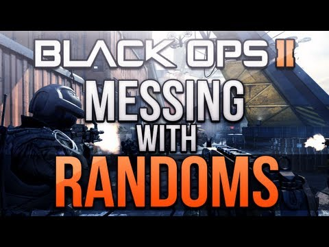 Black Ops 2 - Messing with Randoms #1! (Trolling Squeakers & RAGE!)