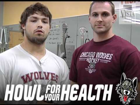 Howl For Your Health - Front and Back