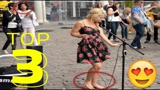 Watch Barefoot Street Performer SHOCKS Audience Busking Live Performers Sammie Jay