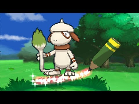 Pokemon X and Y - How To Get Any Move On Smeargle