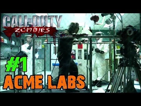 Acme Laboratories Ep.1 - Call of Duty Custom Zombies (CoD Zombies) - World at War [PC HD]