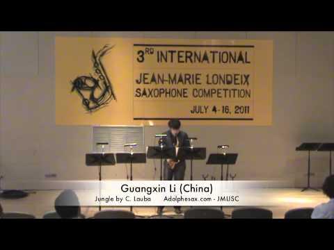 3rd JMLISC: Guangxin Li (China) Jungle by C. Lauba
