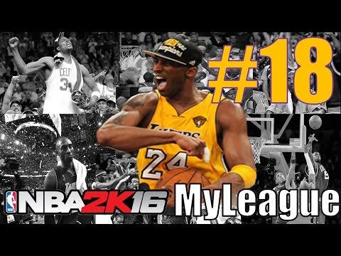 NBA 2K16: MyLeague - Lakers vs Celtics (Game 43 of 58)