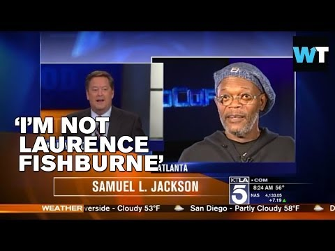 Samuel L. Jackson Chews Out Reporter Over Laurence Fishburne Mixup  | What's Trending Now