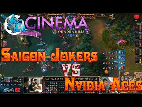 { VCSA Xuân 2015 } Saigon Jokers vs Nvidia Aces { 08/01/2015 }